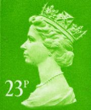 23p Discount GB Postage Stamp